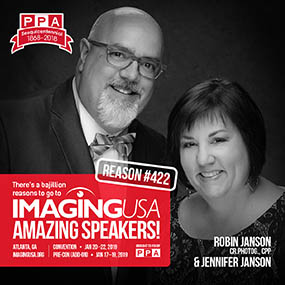 Robin & Jennifer Janson Imaging USA 2019 Speakers