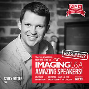 Corey Potter Imaging USA 2019 Speaker