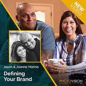 Jason & Joanne Marino Defining Your Brand PhotoVision Video