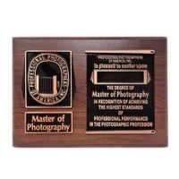 Master of Photography Plaque