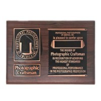 Photographic Craftsman Plaque