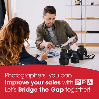 Photographers you can improve your sales with PPA.  Lets Bridge the Gap together.