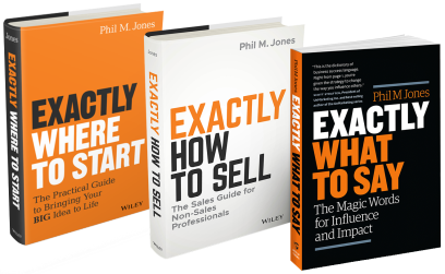 Exactly What to Say Series written by Phil M. Jones, former Imaging USA speaker