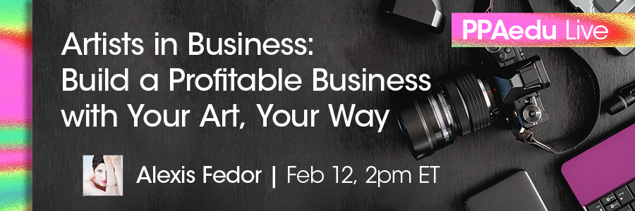 Ad Image of PPA Education Live Series on Facebook  featuring Alex Fedor