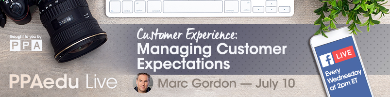 Marc Gordon on Managing Customer Expectations PPAedu Live on Facebook presented by PPA