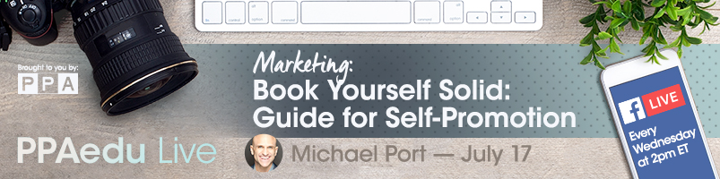 Michael Port speaks on Booking Yourself Solid PPAedu Live on Facebook presented by PPA
