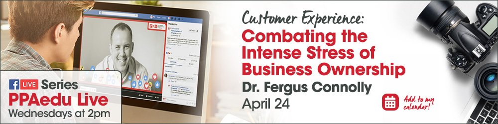 Combating the Intense Stress of Business Ownership with Dr. Fergus Connolly