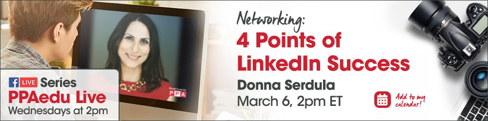 Networking – 4 Points of LinkedIn Success with Donna Serdula