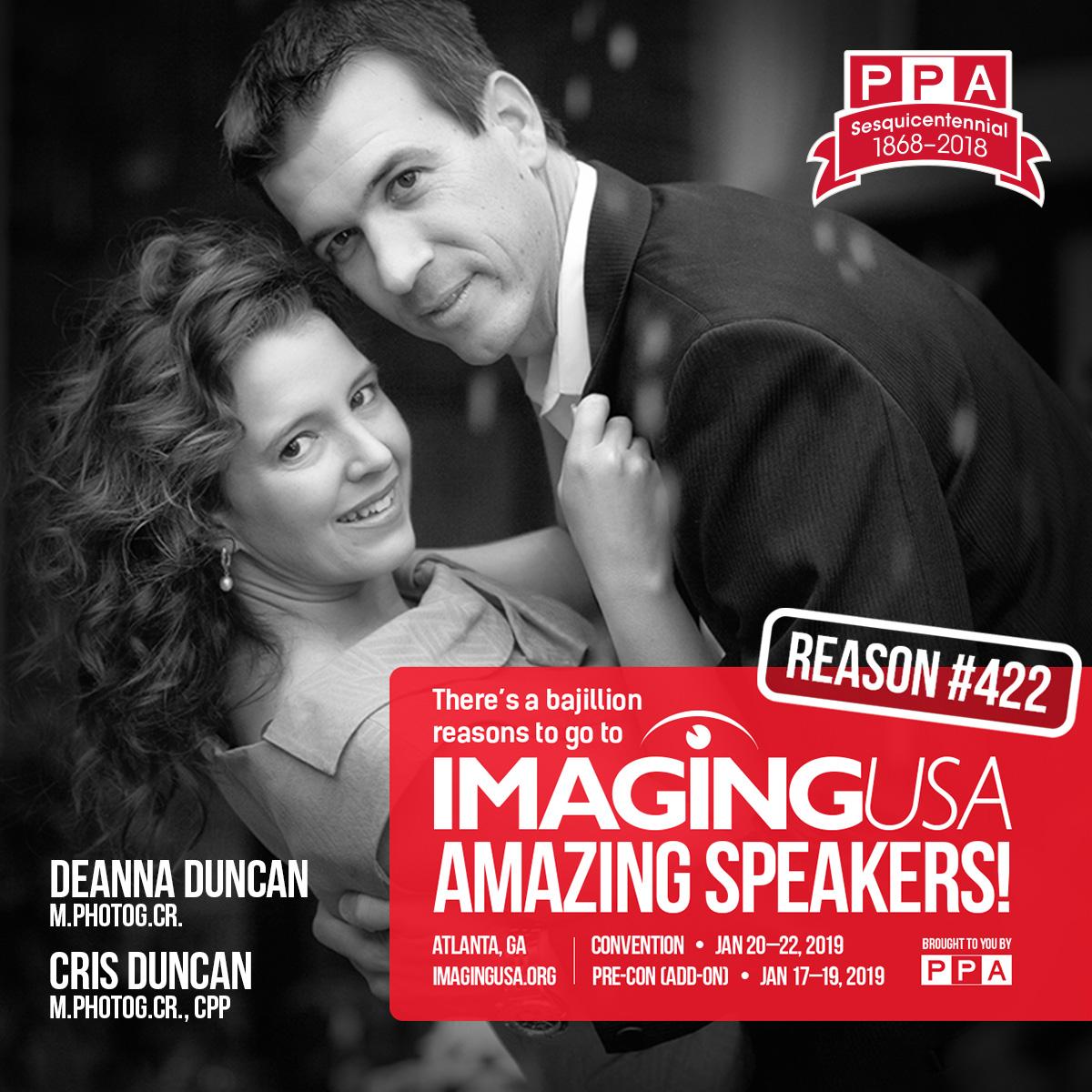 Cris & Deanna Duncan Imaging USA 2019 Speakers
