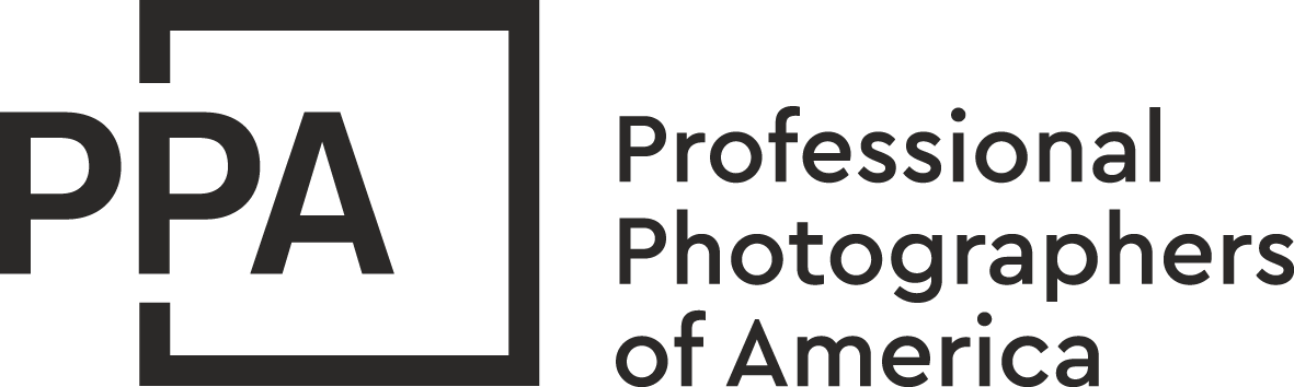 Professional Photographers of America Black and White Logo