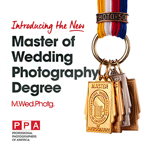 PPA's Master Wedding Degree and Competition Ribbon