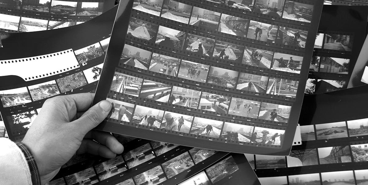 film contact sheet