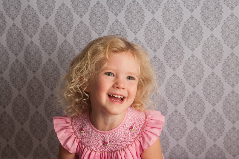 Bring a mini studio to your client, portrait photography by Betsy Finn