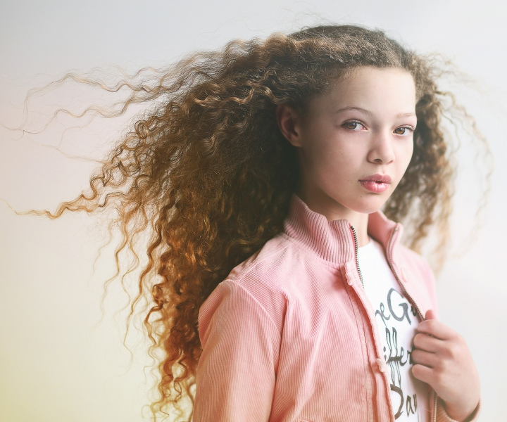 Audrey Woulard, Striking gold in the tween portrait market, portrait photography