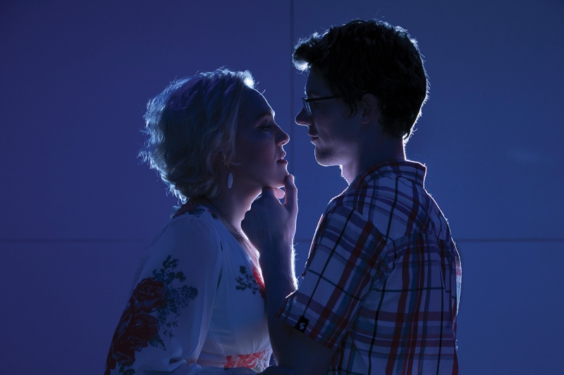 6) Adding a gel and a low-powered and gridded speedlight about 6 feet behind the couple is a nighttime trick you'll want to master.