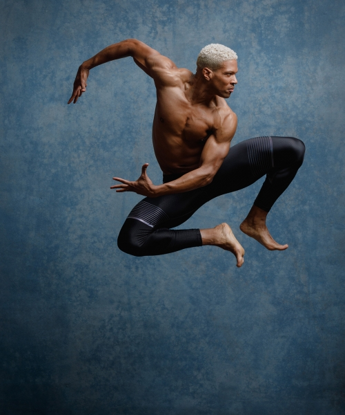 Male dancer portrait by professional photographer John Gress