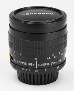 The Nikon version of the Lensbaby Burnside 35