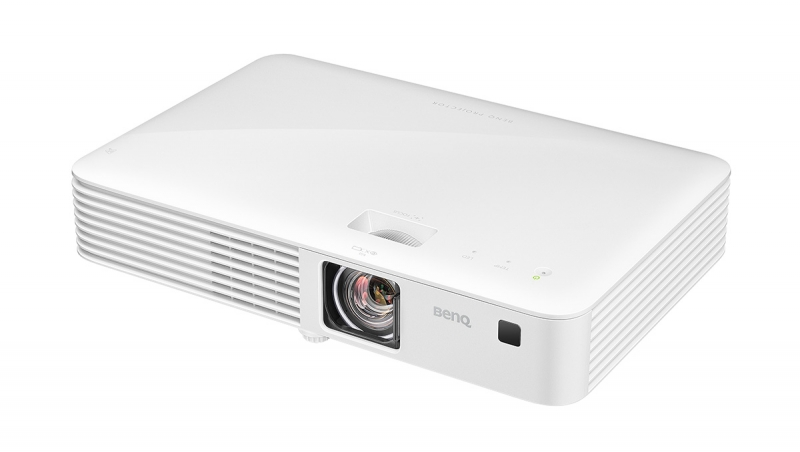 The BenQ Ch100 is a portable LED projector with full 1080p resolution, short-throw capability, and a durable lamp-free LED light source. $899