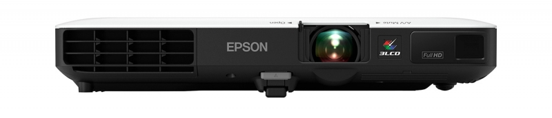 The Powerlite 1795 F projector from Epson is extremely travel-friendly with full HD wireless widescreen projection and weighing only 4 pounds. $1,249.99