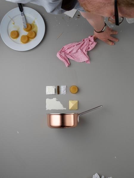 Deconstructed dishes by commercial photographer Mikkel Jul Hvilshoj