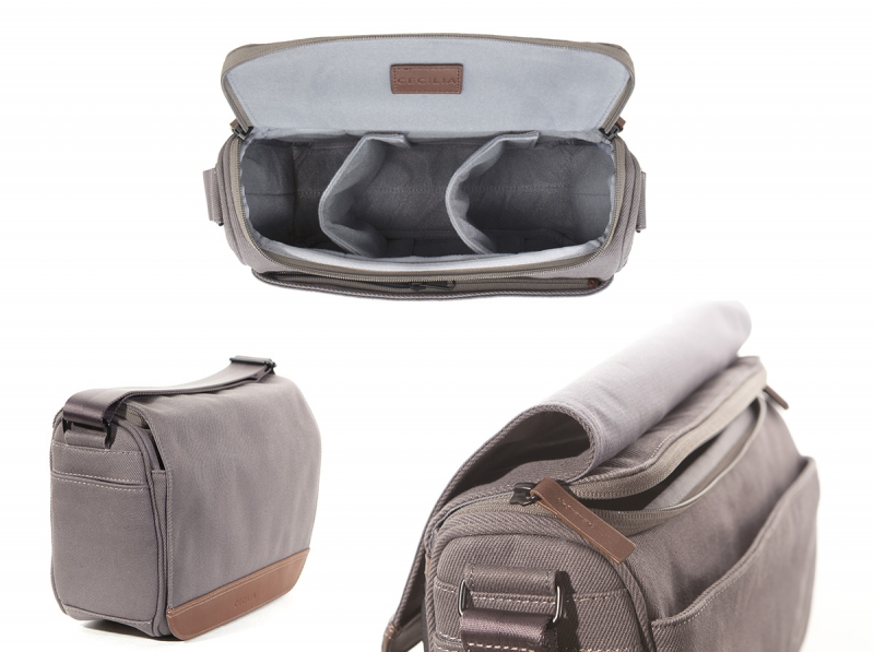 Cecilia Tharp Camera Messenger Bag
