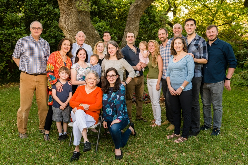 Photographing this multi-generational family portrait required only a few minutes to set up the eVolv 200 and camera. I used the Mini Reflector accessory for the eVolv 200 bare tube. The photo was made just before sunset, and the yard was mostly in shade.