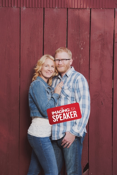 Elizabeth and Aaron Vovk of 4 Girls Glamour present sessions on boudoir photography at Imaging USA 2020.