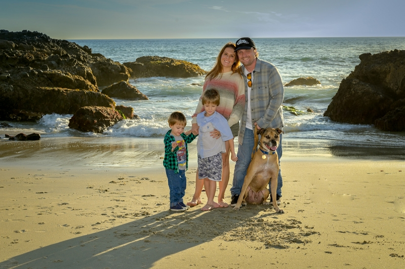 Family photo time with the 50mm f/1.8 Z lens and on-camera flash fill with my SB-900 AF Speedlight.