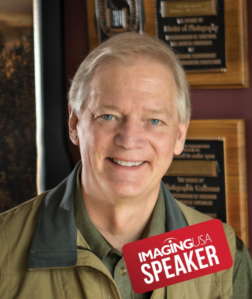 Portrait photographer Don MacGregor will speak at Imaging USA 2020 in Nashville.