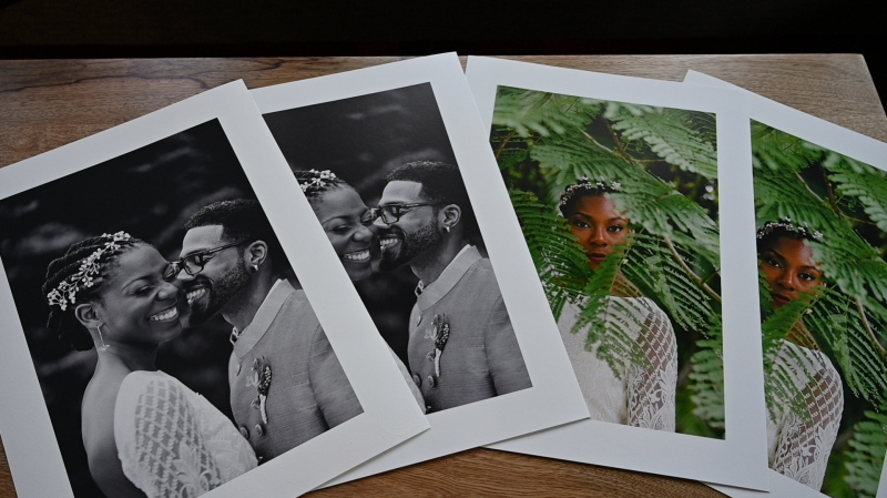 The images were each printed on Canson Infinity Baryta Prestige 340gsm and Canson infinity PrintMaKing Rag on a Canon imagePrograf 6450 printer. Featured photography by Bri McDaniel