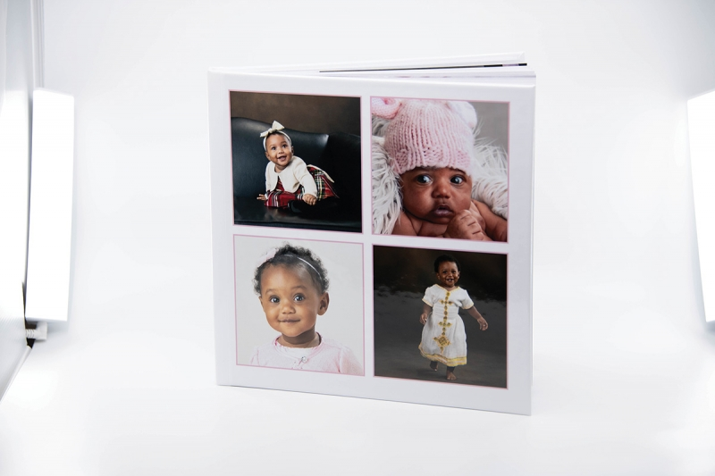 Using a light box lets you easily take images of the products you offer, which you and your clients can share on social media.